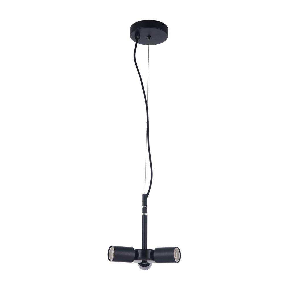 Основание подвесной люстры Maytoni Toronto MOD974-PLBase-03-Black, 3xE27x40W, черный, металл - фото 1