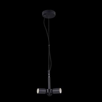 Основание подвесной люстры Maytoni Toronto MOD974-PLBase-03-Black, 3xE27x40W, черный, металл - миниатюра 2
