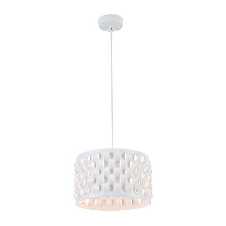 Подвесной светильник Maytoni Delicate MOD196-PL-02-W, 2xE14x40W, белый, металл