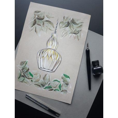 Подвесной светильник Maytoni Eustoma MOD238-PL-01-BL, 1xE14x40W, никель, голубой, металл, стекло - миниатюра 5