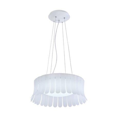 Подвесной светильник Maytoni Degas MOD341-PL-01-24W-W 4000K (дневной), белый, металл, пластик