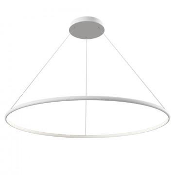 Подвесной светильник Maytoni Nola MOD807-PL-01-60-W 4100K (холодный), белый, металл, пластик
