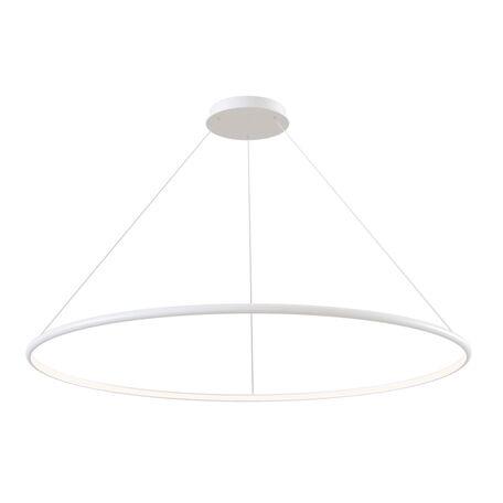 Подвесной светодиодный светильник Maytoni Nola MOD807-PL-01-70-W, LED 70W 4100K 4200lm CRI80, белый, металл, металл с пластиком, пластик