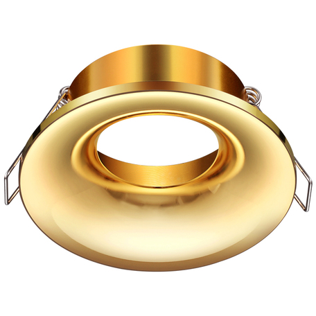 Встраиваемый светильник Novotech Metis 370641, 1xGU10x50W, золото, металл
