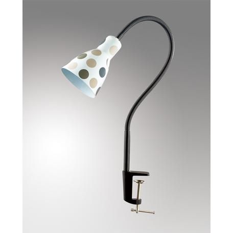 Настольная лампа Odeon Light Classic Pika 2595/1T, 1xE27x60W, черный, разноцветный, металл