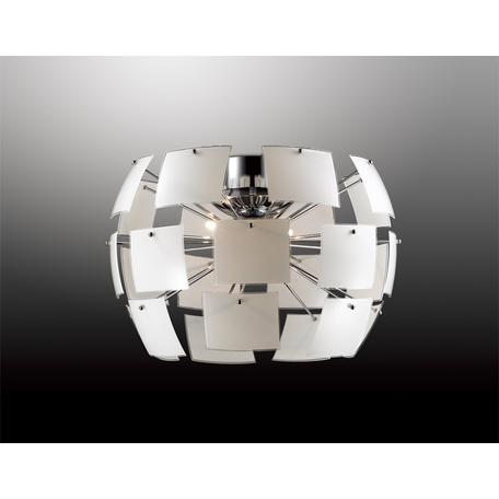 Потолочный светильник Odeon Light Classic Vorm 2655/4C, 4xG9x40W, хром, белый, металл, стекло