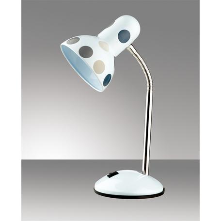 Настольная лампа Odeon Light Standing Flip 2592/1T, 1xE27x60W, белый, разноцветный, металл