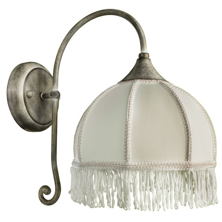 Arte Lamp Bianca A2116AP-1WG, 1xE14x60W, белый - миниатюра 1