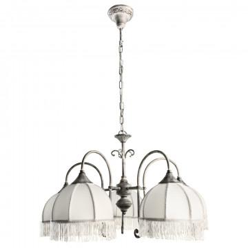 Arte Lamp Bianca A2116LM-5WG, 5xE14x60W, белый