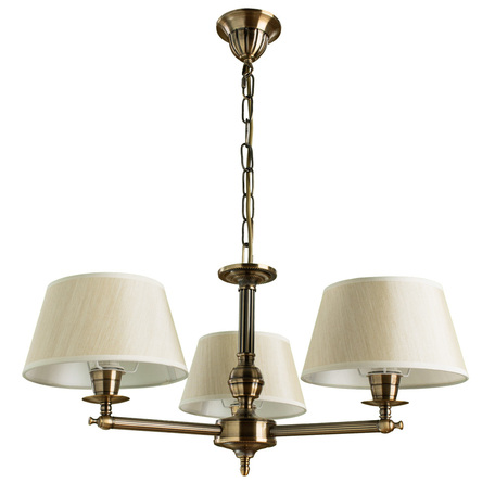 Arte Lamp York A2273LM-3RB, 3xE14x40W, бежевый