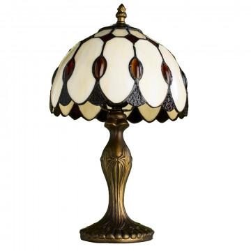 Arte Lamp Tiffany A3163LT-1BG, 1xE27x40W, бежевый, янтарь