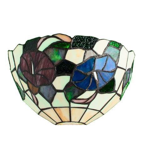 Arte Lamp Tiffany A3165AP-1BG, 1xE27x60W, разноцветный