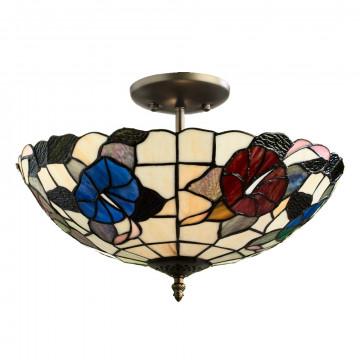 Arte Lamp Tiffany A3165PL-2BG, 2xE27x60W, разноцветный