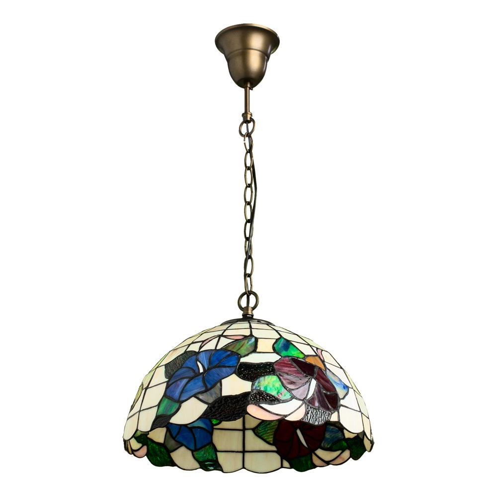 Arte Lamp Tiffany A3165SP-1BG, 1xE27x100W, разноцветный - фото 1