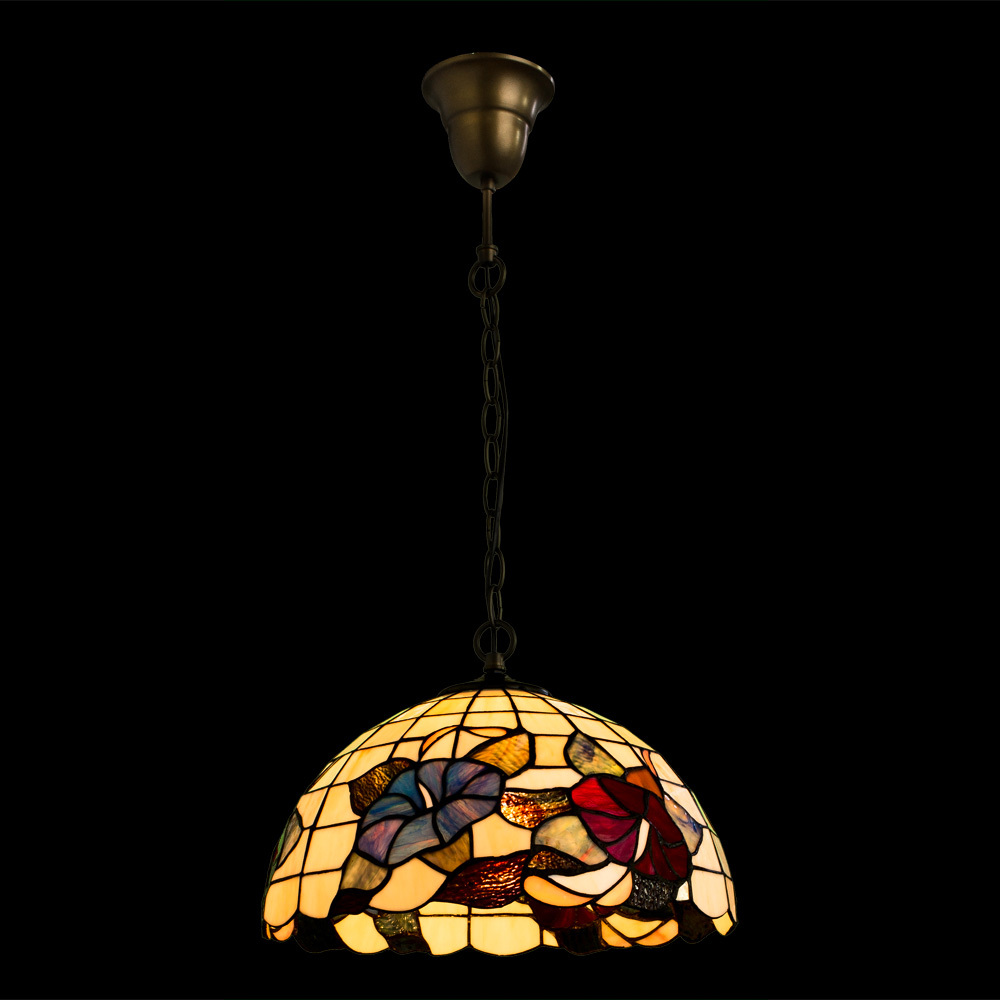 Arte Lamp Tiffany A3165SP-1BG, 1xE27x100W, разноцветный - фото 2