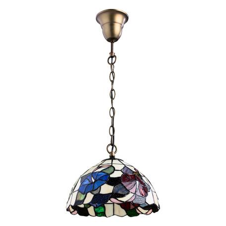 Arte Lamp Tiffany A3166SP-1BG, 1xE27x100W, разноцветный