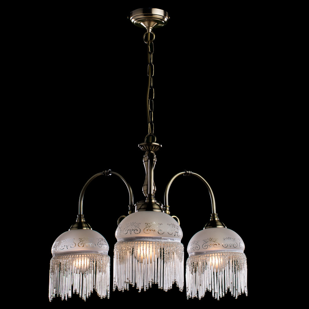 Arte Lamp Victoriana A3191LM-3AB, 3xE27x60W, белый - фото 2