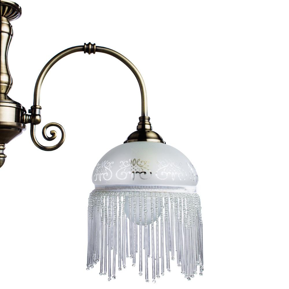 Arte Lamp Victoriana A3191LM-3AB, 3xE27x60W, белый - фото 3
