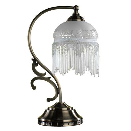 Arte Lamp Victoriana A3191LT-1AB, 1xE27x60W, белый