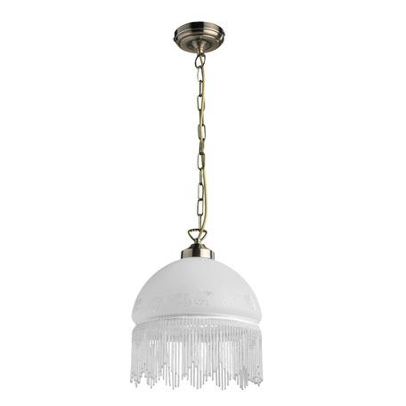 Arte Lamp Victoriana A3191SP-1AB, 1xE27x100W, белый - миниатюра 1