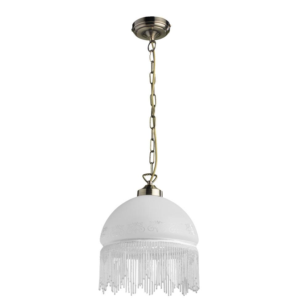 Arte Lamp Victoriana A3191SP-1AB, 1xE27x100W, белый - фото 1