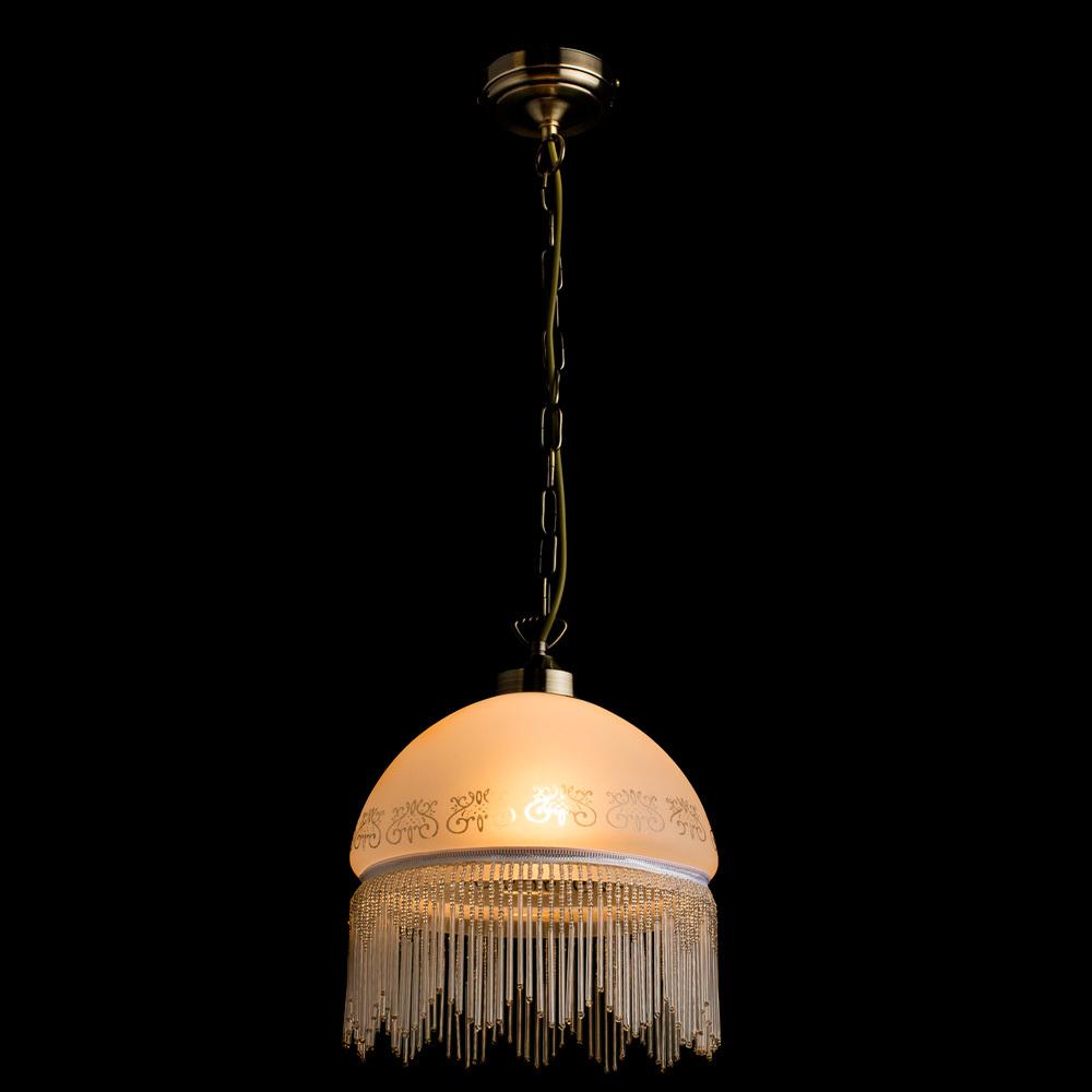 Arte Lamp Victoriana A3191SP-1AB, 1xE27x100W, белый - фото 2