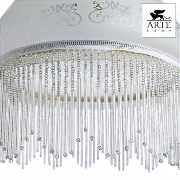 Arte Lamp Victoriana A3191SP-1AB, 1xE27x100W, белый - миниатюра 4