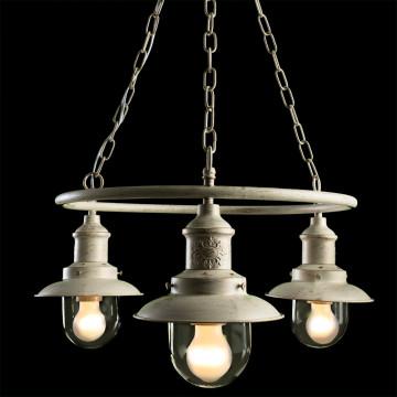 Arte Lamp Sailor A4524LM-3WG, 3xE27x60W, прозрачный - миниатюра 2