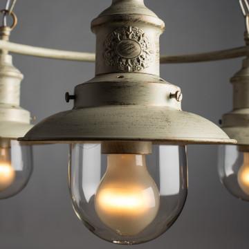 Arte Lamp Sailor A4524LM-3WG, 3xE27x60W, прозрачный - миниатюра 4