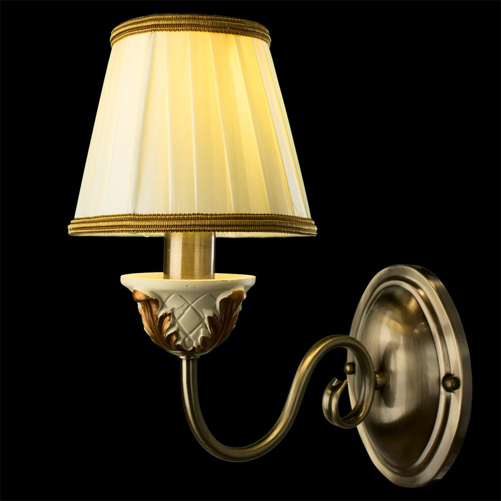 Arte Lamp Benessere A9570AP-1WG, 1xE14x40W, белый - фото 2