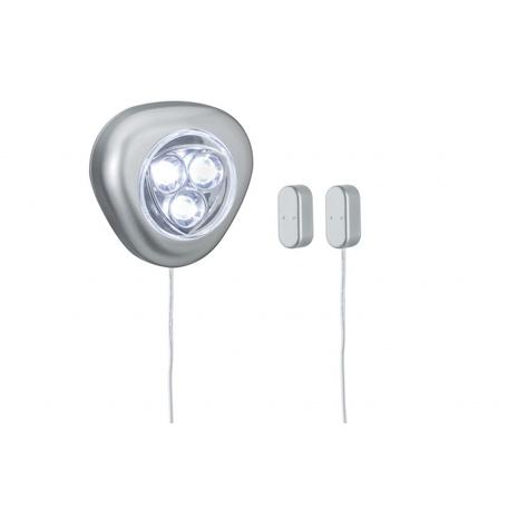 Мебельный светодиодный светильник Paulmann TriLED 70500, LED 0,18W, алюминий, металл