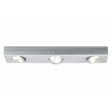Мебельный светодиодный светильник Paulmann Jiggle 70635, LED 0,54W, матовый хром, пластик