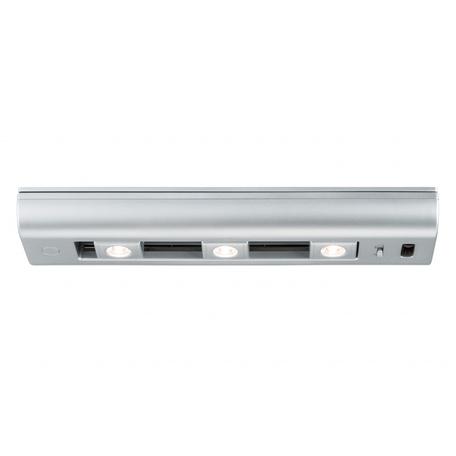 Мебельный светодиодный светильник Paulmann Slide bar 70640, LED 1,5W, матовый хром, пластик
