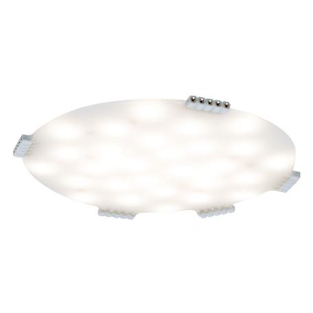 Мебельный светодиодный светильник Paulmann MaxLED Softpad 70711, LED 2,8W, белый, пластик
