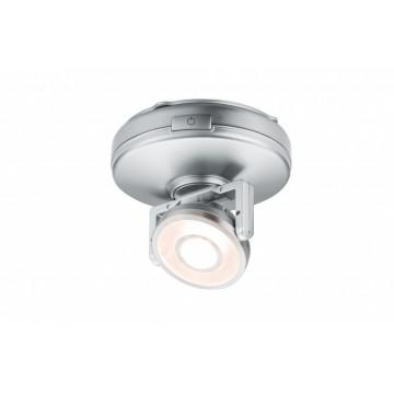 Мебельный светодиодный светильник Paulmann Rotate 70637, LED 1W, матовый хром, пластик