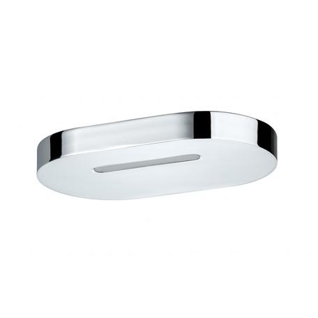 Настенный светодиодный светильник Paulmann Belona 70395, IP44, LED 10W, хром, металл с пластиком