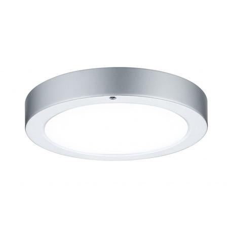 Потолочный светодиодный светильник Paulmann Smooth 70432, LED 7,5W, матовый хром, металл с пластиком