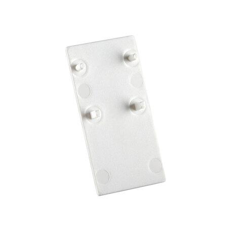 Концевая заглушка для шинопровода Novotech Flum 135094, белый, пластик