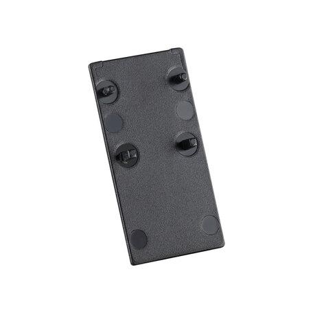 Концевая заглушка для шинопровода Novotech Flum 135095, черный, пластик