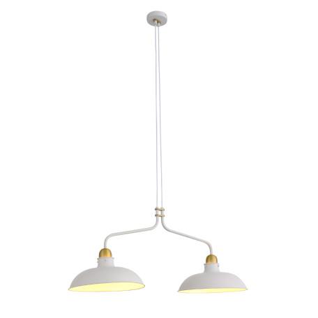 Подвесной светильник ST Luce Pietanza SL323.503.02, 2xE27x60W, белый, металл
