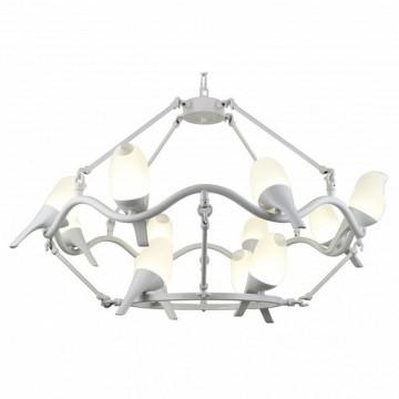 Подвесная светодиодная люстра Divinare tucano 9656/03 SP-12, LED 50W 4000K (дневной) 3000lm