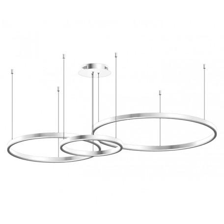 Подвесной светодиодный светильник Kink Light Тор 08223,01PA(4000K), LED 101W 4000K 9900lm CRI>80