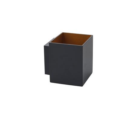 Настенный светильник Denkirs DK8023-BK, 1xG9x40W, черный, золото, металл