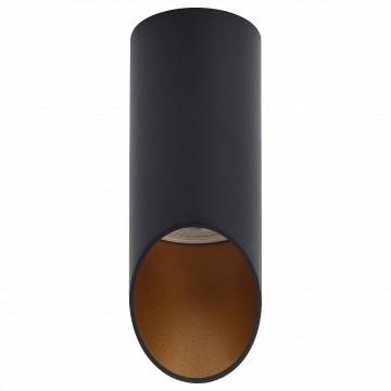 Потолочный светильник Denkirs DK2011-BK, 1xGU10x50W, золото, черный, металл