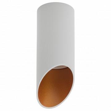 Потолочный светильник Denkirs DK2011-WH, 1xGU10x50W, белый, золото, металл
