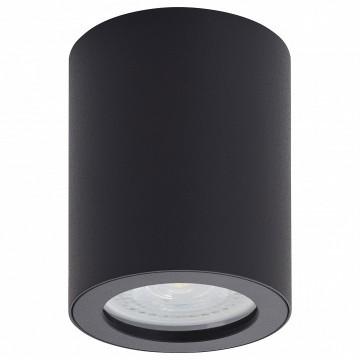 Потолочный светильник Denkirs DK3007-BK, IP44, 1xGU10x50W, черный, металл