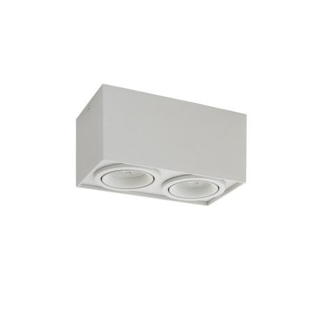 Потолочный светильник Denkirs DK2004-WH, 2xGU10x50W, белый, металл