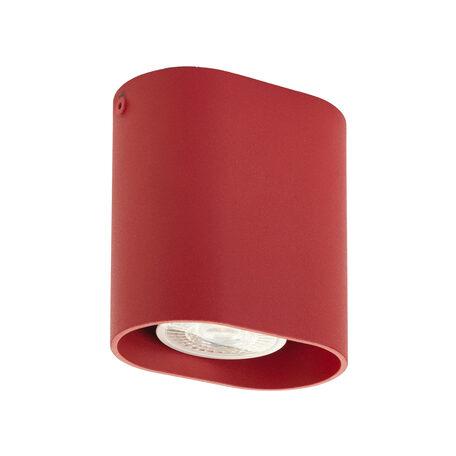 Потолочный светильник Denkirs DK2005-RE, 1xGU10x50W, красный, металл