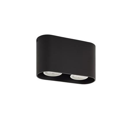 Потолочный светильник Denkirs DK2006-BK, 1xGU10x50W, черный, металл