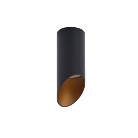 Потолочный светильник Denkirs DK2011-BK, 1xGU10x50W, черный с золотом, металл